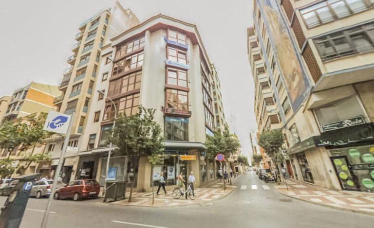 Calle Asensi en Castellón